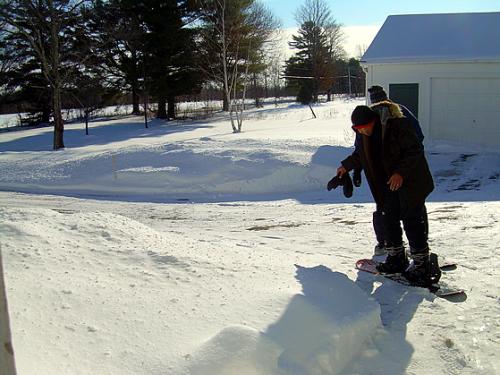 Cornville nabil snowboard