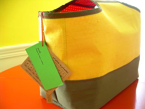 May 29 mustard tote