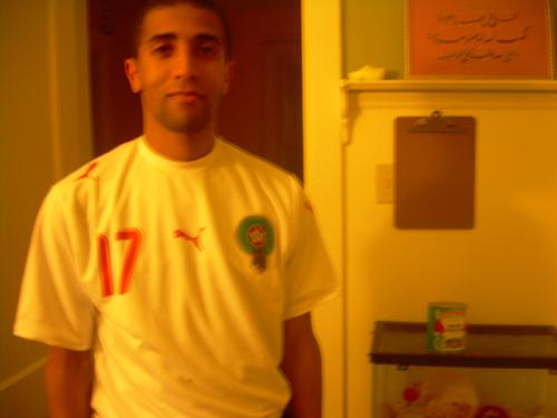 Nabil soccer shirt