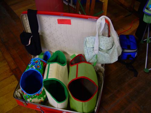 Suitcase naima totes