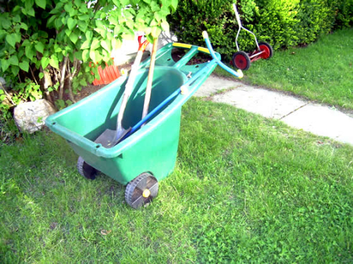 May 26 garden tools